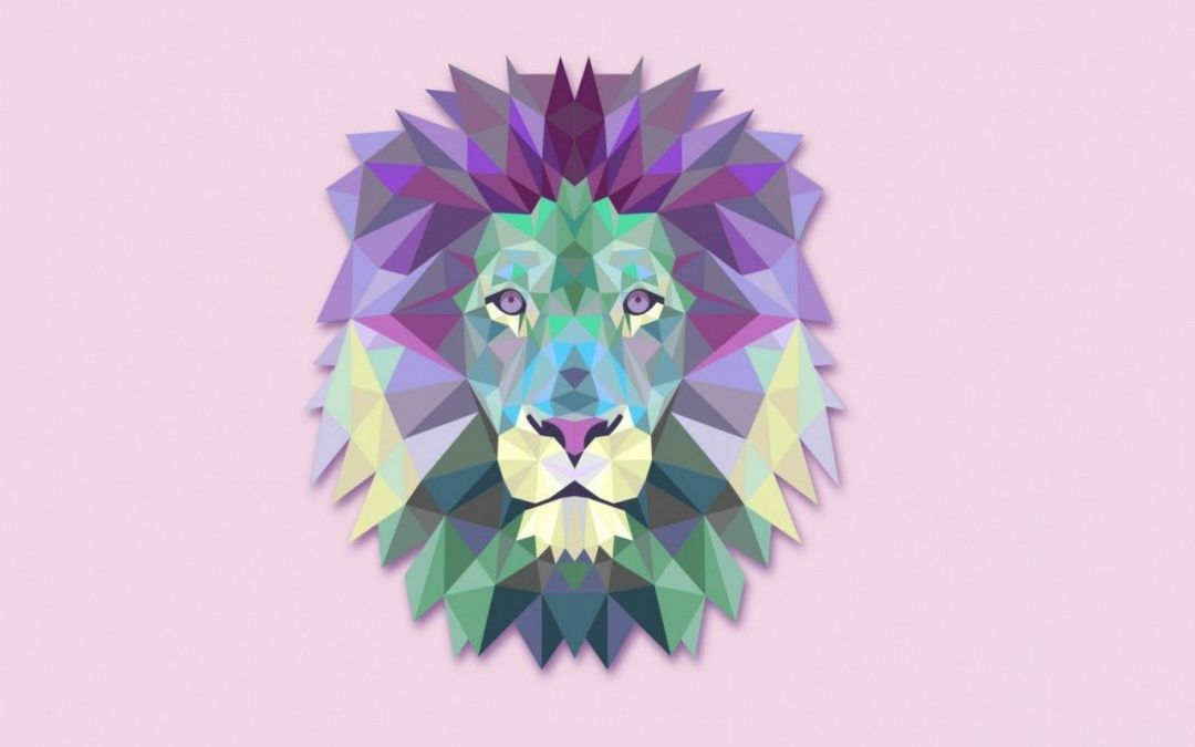 Lion Geometric Wallpaper - Android / iPhone HD Wallpaper Background Download HD Wallpapers (Desktop Background / Android / iPhone) (1080p, 4k) (819918) - Abstract