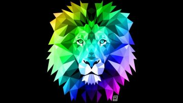 Rainbow Lion Wallpaper 27 Image On Genchi Info - Rainbow - Android / iPhone HD Wallpaper Background Download HD Wallpapers (Desktop Background / Android / iPhone) (1080p, 4k)