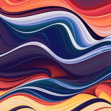 Colorful Abstraction Waves - Android / iPhone HD Wallpaper Background Download HD Wallpapers (Desktop Background / Android / iPhone) (1080p, 4k)