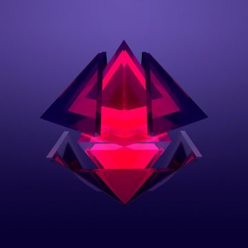 Diamond Abstract Facet - Android / iPhone HD Wallpaper Background Download HD Wallpapers (Desktop Background / Android / iPhone) (1080p, 4k)