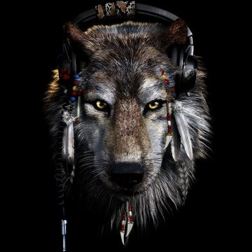 Indian and Wolf Wallpaper - Android / iPhone HD Wallpaper Background Download HD Wallpapers (Desktop Background / Android / iPhone) (1080p, 4k)