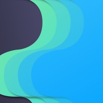 Material Design Flow Blue Green  - Android / iPhone HD Wallpaper Background Download HD Wallpapers (Desktop Background / Android / iPhone) (1080p, 4k)