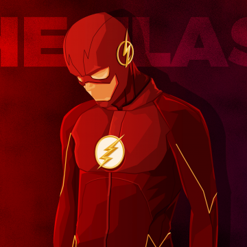 Wallpaper The Flash, Minimal, HD, Movies - Android / iPhone HD Wallpaper Background Download HD Wallpapers (Desktop Background / Android / iPhone) (1080p, 4k)