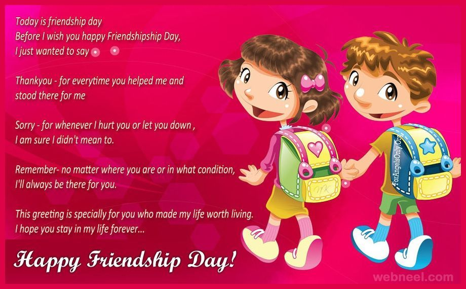 Happy Friendship Day Wishes HD Wallpapers/Whatsapp status HD (33484) - Friendship Day