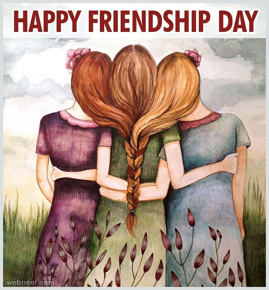 Happy Friendship Day Wishes HD Wallpapers/Whatsapp status HD (33402) - Friendship Day