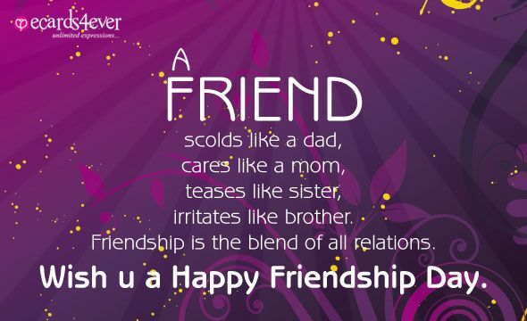 Happy Friendship Day Wishes HD Wallpapers/Whatsapp status HD (33834) - Friendship Day