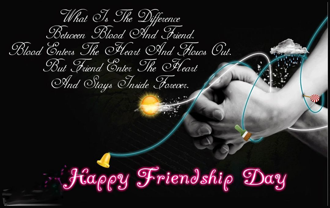 Happy Friendship Day Wishes HD Wallpapers/Whatsapp status HD (33388) - Friendship Day