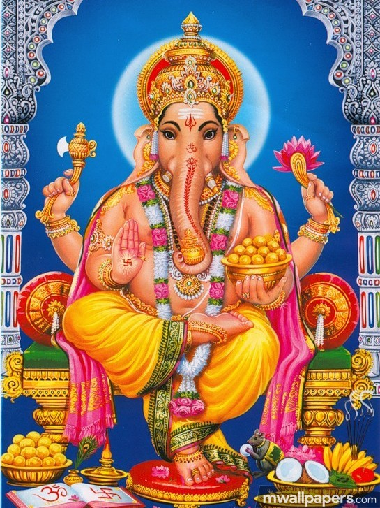 🌺 *Best* Lord Ganesha (Vinayagar, Pillaiyar) HD Image / Wallpaper - Ganesh Chaturthi (13 September 2018) (19032) - Ganesh Chaturthi