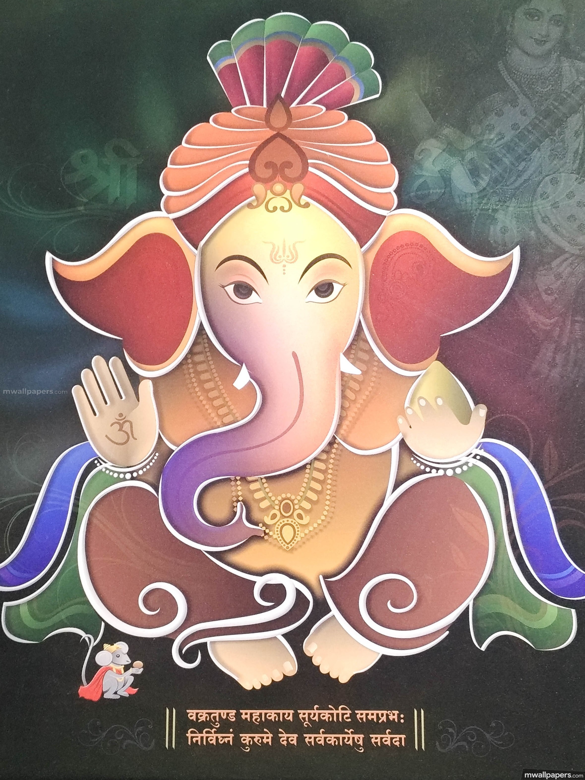 🌺 *Best* Lord Ganesha (Vinayagar, Pillaiyar) HD Image / Wallpaper - Ganesh Chaturthi (13 September 2018) (19034) - ganesha, vinayaga, vinayagar, pillaiyar, pillayar, lord ganesha, ganesh chaturthi