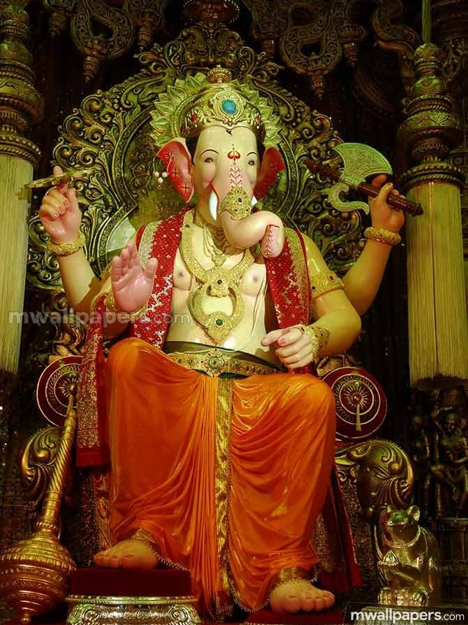 🌺 *Best* Lord Ganesha (Vinayagar, Pillaiyar) HD Image / Wallpaper - Ganesh Chaturthi (13 September 2018) (19025) - Ganesh Chaturthi