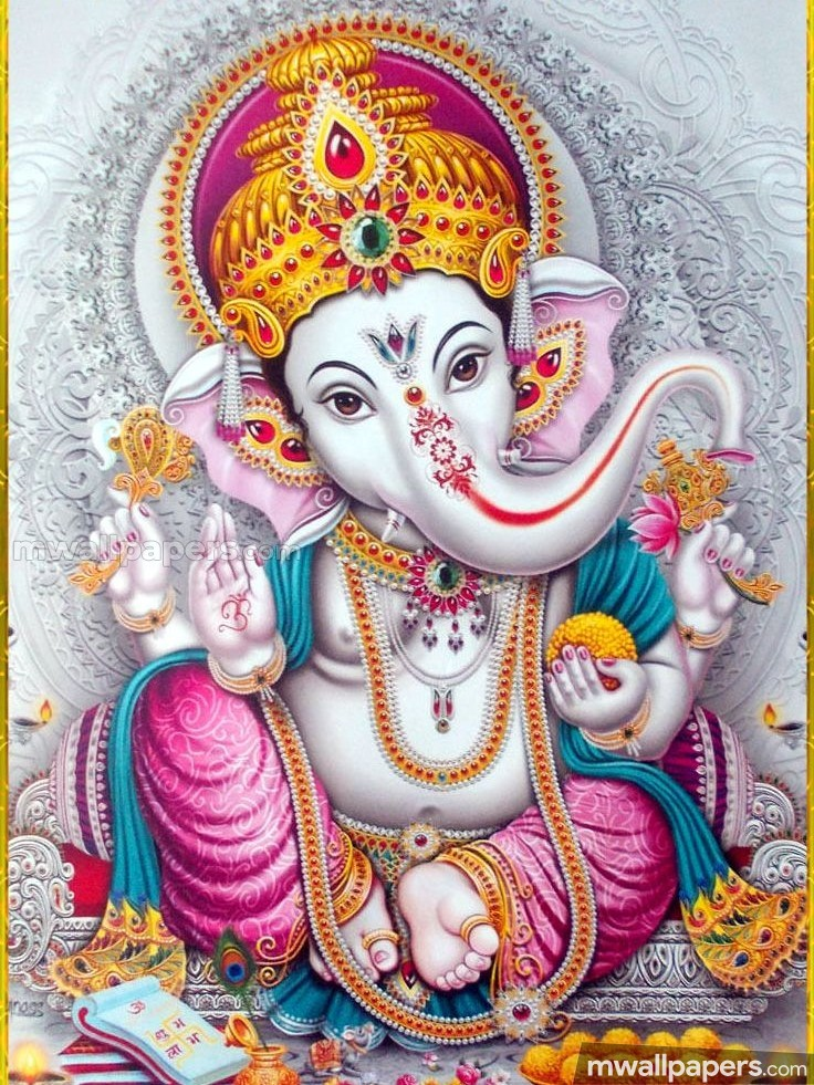🌺 *Best* Lord Ganesha (Vinayagar, Pillaiyar) HD Image / Wallpaper - Ganesh Chaturthi (13 September 2018) (18986) - Ganesh Chaturthi