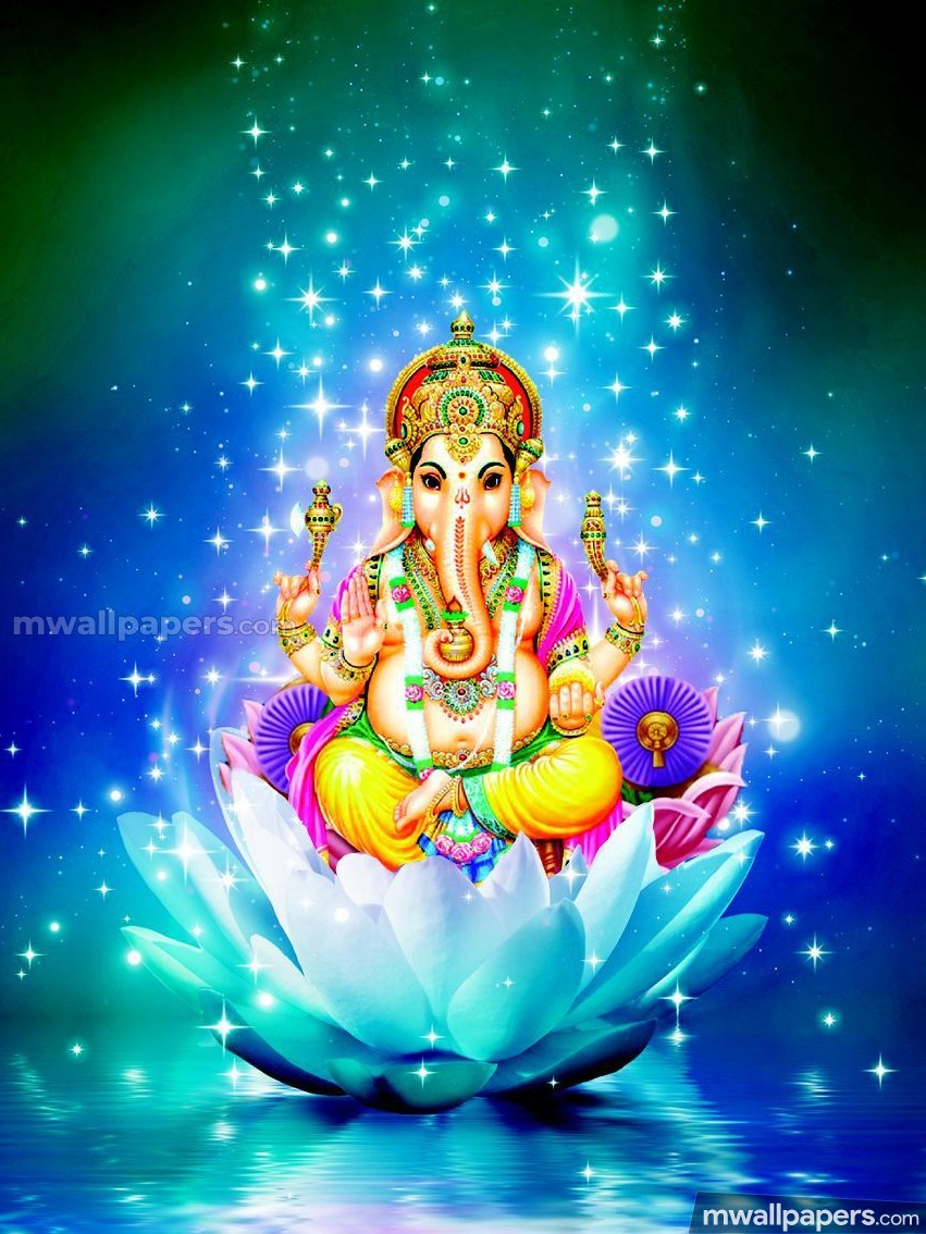 🌺 *Best* Lord Ganesha (Vinayagar, Pillaiyar) HD Image / Wallpaper - Ganesh Chaturthi (13 September 2018) (19016) - Ganesh Chaturthi