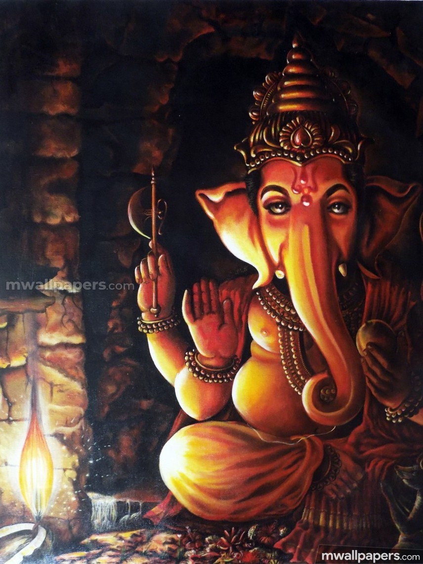 🌺 *Best* Lord Ganesha (Vinayagar, Pillaiyar) HD Image / Wallpaper - Ganesh Chaturthi (13 September 2018) (19012) - Ganesh Chaturthi