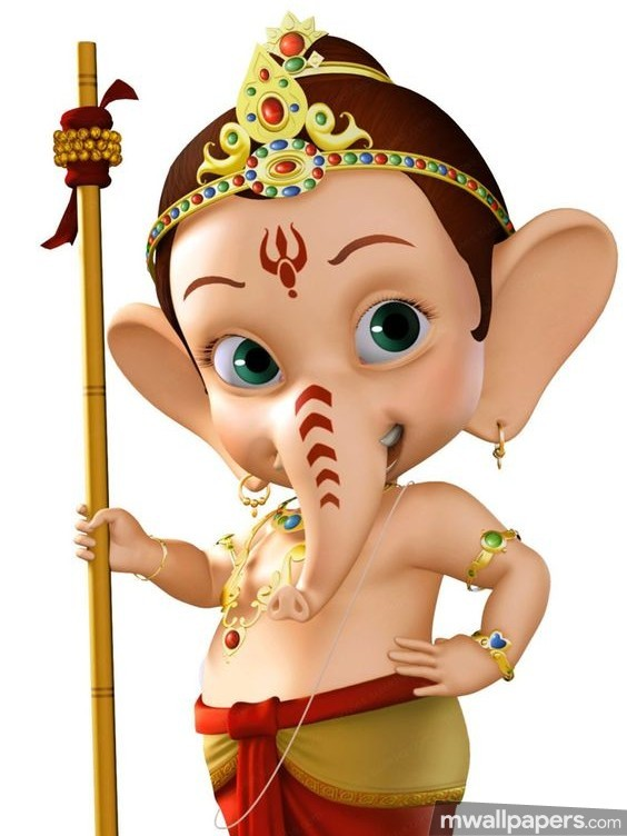 Ganesh Chaturthi (13 September 2018) - Lord Ganesha (Ganpati, Vinayak, Pillaiyar) Cute Creative HD Photos/Wallpapers (19069) - Ganesh Chaturthi
