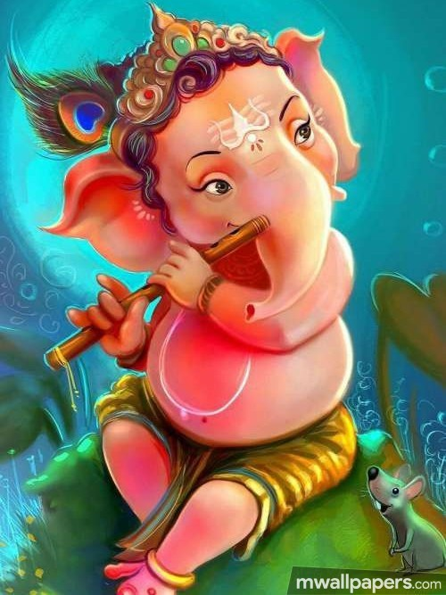 Ganesh Chaturthi (13 September 2018) - Lord Ganesha (Ganpati, Vinayak, Pillaiyar) Cute Creative HD Photos/Wallpapers (19075) - Ganesh Chaturthi