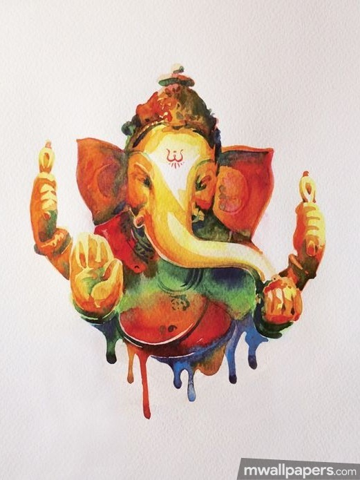Ganesh Chaturthi (13 September 2018) - Lord Ganesha (Ganpati, Vinayak, Pillaiyar) Cute Creative HD Photos/Wallpapers (19072) - Ganesh Chaturthi