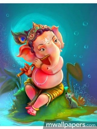 Ganesh Chaturthi (13 September 2018) - Lord Ganesha (Ganpati, Vinayak, Pillaiyar) Cute Creative HD Photos/Wallpapers