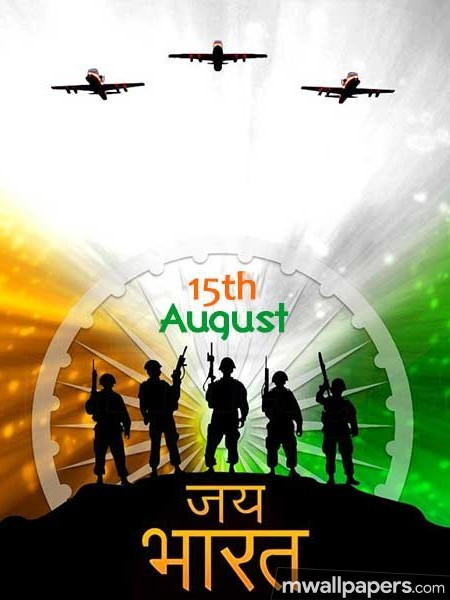 Happy Independence Day [15th August 2018] - HD Wallpapers/Photos for WhatsApp (13652) - Independence Day