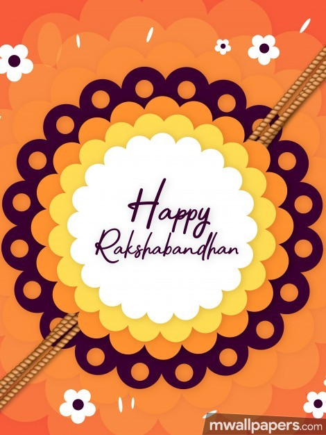 🌟 🌺 Happy Raksha Bandhan (Rakhi) 2018 Wallpaper / WhatsApp