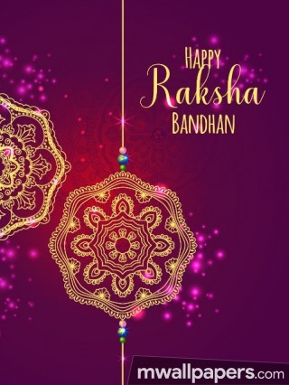 🌺 Happy Raksha Bandhan (Rakhi) 2018 Wallpaper / WhatsApp Status & DP 🌺