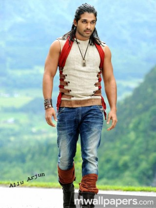Allu Arjun Cute HD Photos (1080p)