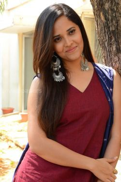Anasuya Bharadwaj Beautiful HD Photoshoot Stills (1080p)