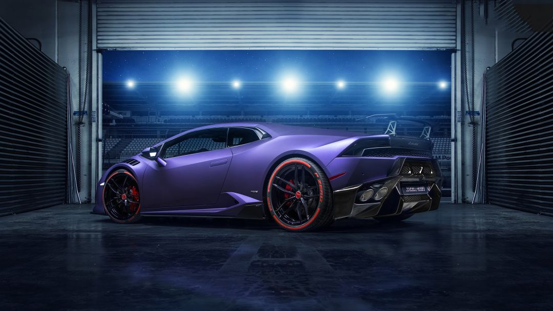 Purple Lamborghini Huracan 2019 - Android / iPhone HD Wallpaper Background Download HD Wallpapers (Desktop Background / Android / iPhone) (1080p, 4k)