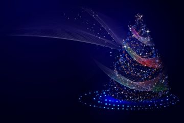 Christmas Tree Illustrations - Android / iPhone HD Wallpaper Background Download HD Wallpapers (Desktop Background / Android / iPhone) (1080p, 4k)