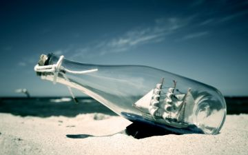 Ship In Bottle - Android, iPhone, Desktop HD Backgrounds / Wallpapers (1080p, 4k) HD Wallpapers (Desktop Background / Android / iPhone) (1080p, 4k)