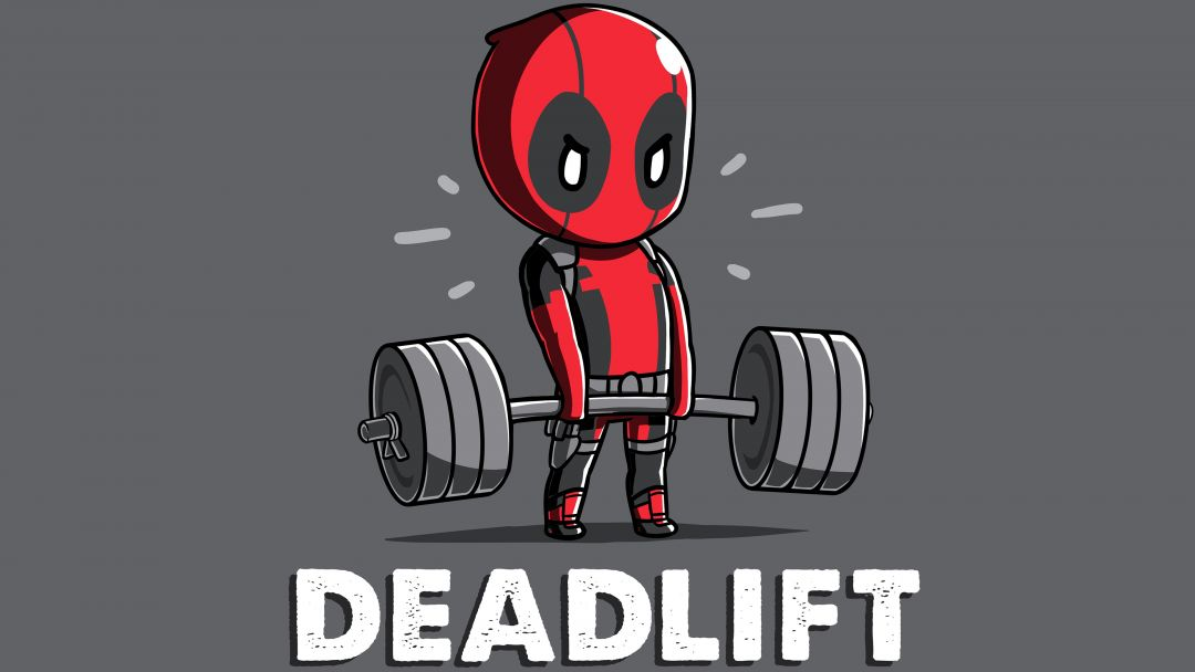 Deadpool Deadlift Funny  - Android / iPhone HD Wallpaper Background Download HD Wallpapers (Desktop Background / Android / iPhone) (1080p, 4k)