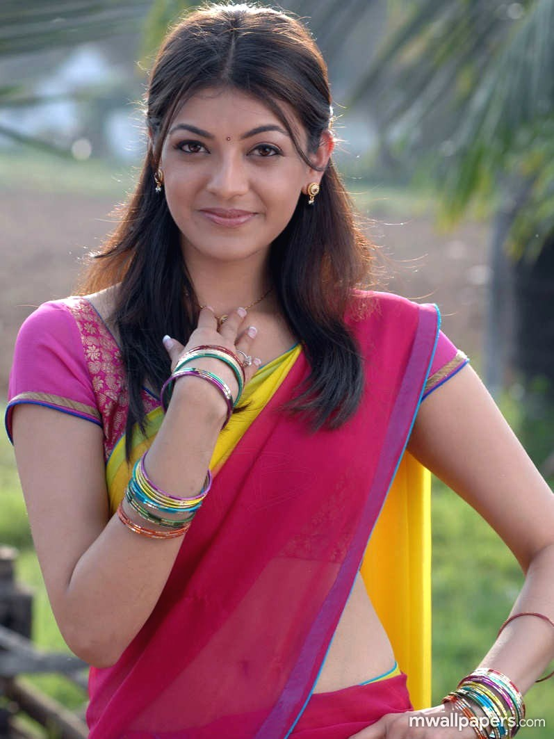 Kajal Agarwal in Saree HD Photos (1080p) (5460) - Kajal Agarwal
