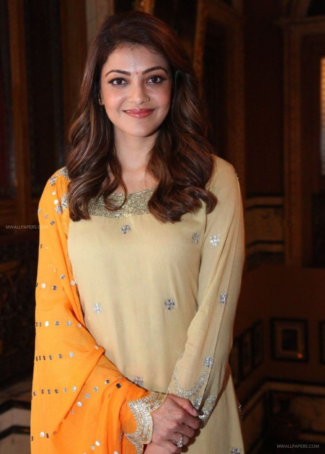 Kajal Agarwals beautiful yellow salwar photos HD Wallpapers (Desktop Background / Android / iPhone) (1080p, 4k) (37526) - Kajal Agarwal