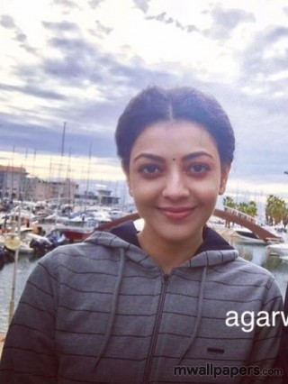 Kajal Agarwal HD Images in Paris Paris