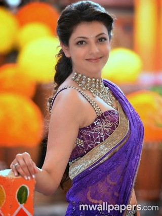 Kajal Agarwal in Saree HD Photos (1080p)