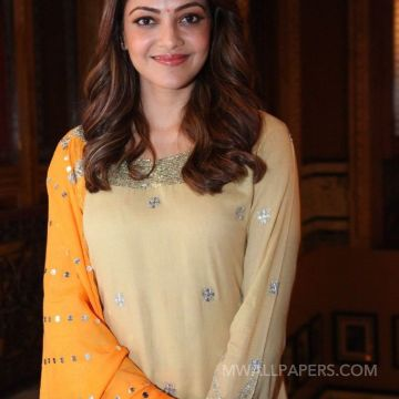 Kajal Agarwals beautiful yellow salwar photos HD Wallpapers (Desktop Background / Android / iPhone) (1080p, 4k)
