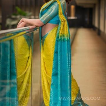 Kajal Agarwals yellow designer  saree  HD photos HD Wallpapers (Desktop Background / Android / iPhone) (1080p, 4k)