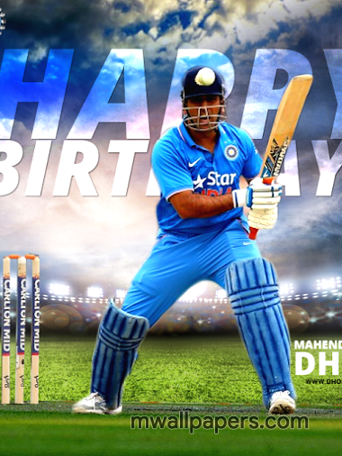 MS Dhoni Birthday HD Images (2125) - MS Dhoni