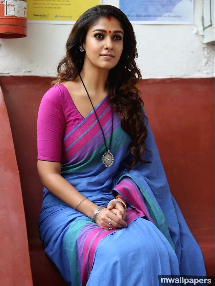 Beautiful Nayanthara HD Photos in Saree (1080p) (9298) - Nayanthara