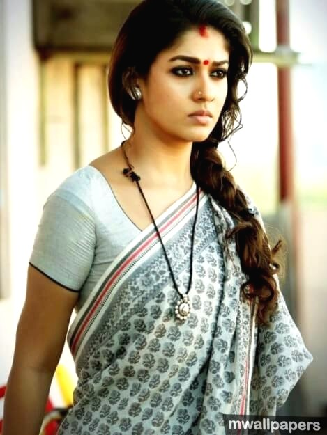 Beautiful Nayanthara HD Photos in Saree (1080p) (9332) - Nayanthara