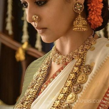 Nayanthara Traditional Saree Photos from Sye Raa Narasimha Reddy Movie (HD) HD Wallpapers (Desktop Background / Android / iPhone) (1080p, 4k)
