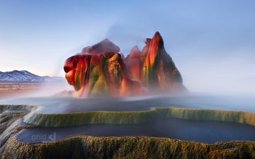 Fly Ranch Geyser - Android, iPhone, Desktop HD Backgrounds / Wallpapers (1080p, 4k) HD Wallpapers (Desktop Background / Android / iPhone) (1080p, 4k)