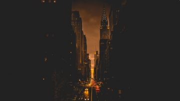 New York City Evening - Android / iPhone HD Wallpaper Background Download HD Wallpapers (Desktop Background / Android / iPhone) (1080p, 4k)