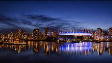 Vancouver City Night - Android, iPhone, Desktop HD Backgrounds / Wallpapers (1080p, 4k) HD Wallpapers (Desktop Background / Android / iPhone) (1080p, 4k)