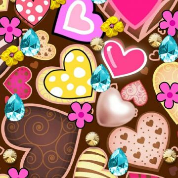 Cute hearts Wallpaper. For My Phone. Wallpaper, Phone - Android / iPhone HD Wallpaper Background Download HD Wallpapers (Desktop Background / Android / iPhone) (1080p, 4k)