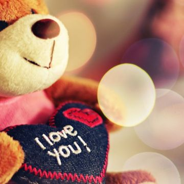 Cute Love Bear Image Wallpaper - Android / iPhone HD Wallpaper Background Download HD Wallpapers (Desktop Background / Android / iPhone) (1080p, 4k)