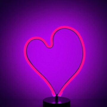 Heart Shape Neon Backlight - Download Free 100% Pure HD Quality - Android / iPhone HD Wallpaper Background Download HD Wallpapers (Desktop Background / Android / iPhone) (1080p, 4k)
