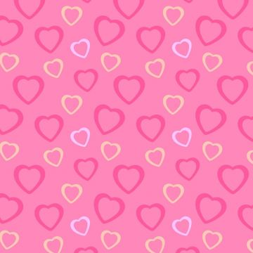 Pink Heart Background Wallpaper, HDQ Beautiful Pink Heart Image - Android / iPhone HD Wallpaper Background Download HD Wallpapers (Desktop Background / Android / iPhone) (1080p, 4k)