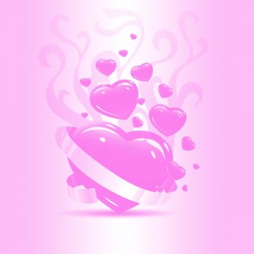 Pink Heart Wallpaper High Quality Image - Android / iPhone HD Wallpaper Background Download HD Wallpapers (Desktop Background / Android / iPhone) (1080p, 4k)