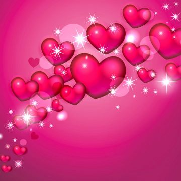 Pink Hearts 4k Ultra HD Wallpaper and Background Image. 3840x2160 - Android / iPhone HD Wallpaper Background Download HD Wallpapers (Desktop Background / Android / iPhone) (1080p, 4k)