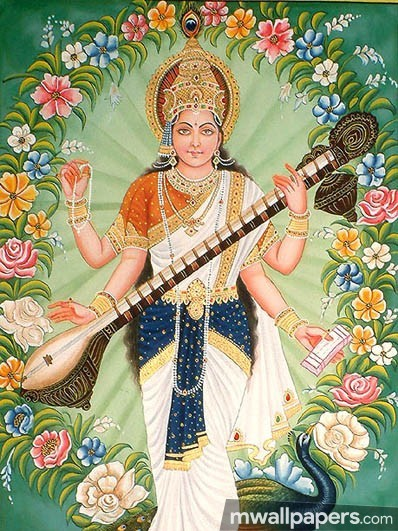 God Saraswati Best HD Photos (1080p) (14386) - God Saraswati